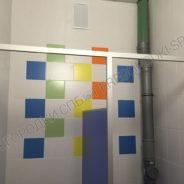 Детские сантехнические туалетные перегородки