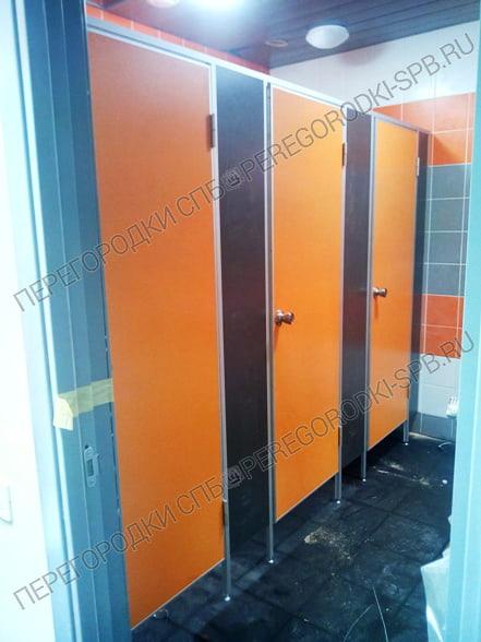 Сантехнические туалетные перегородки в логистический комплекс Московская Славянка-2