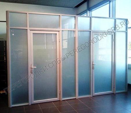 Стеклянные перегородки в салон Мерседес-Бенц-4