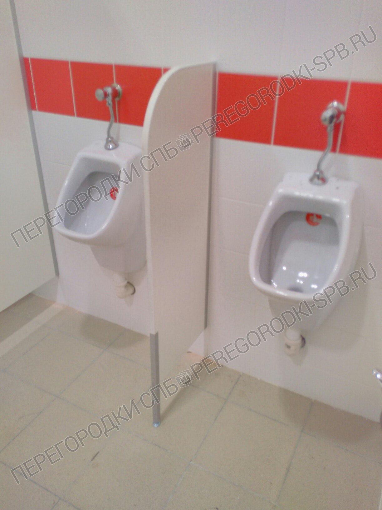 Туалетные и писсуарные перегородки в гипермаркете Карусель-2