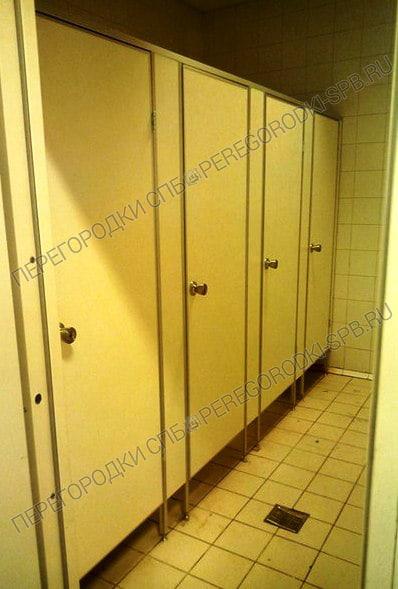 Туалетные перегородки в гипермаркете Карусель-3