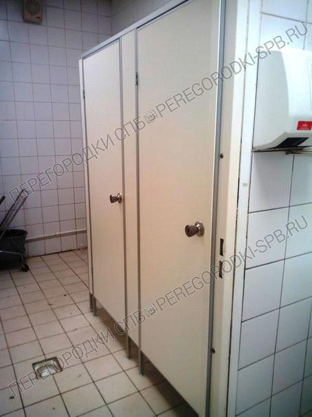 Туалетные перегородки в гипермаркете Карусель-5
