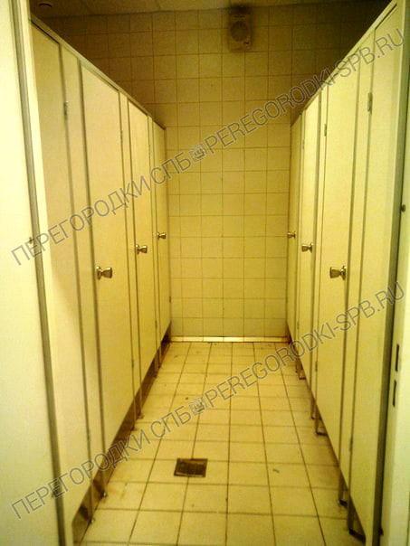 Туалетные перегородки в гипермаркете Карусель-6