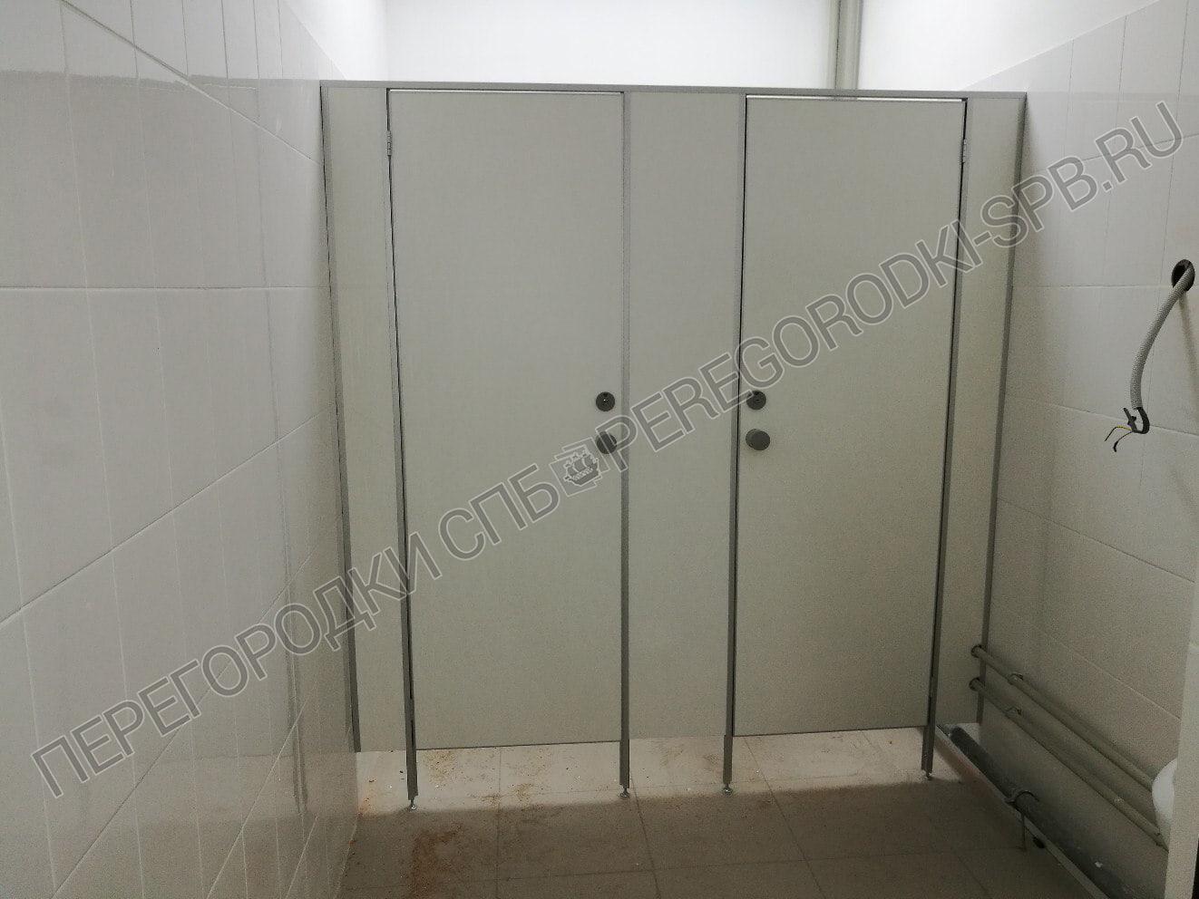 Туалетные перегородки в логистическом центре Магнит-2