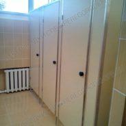 Туалетные перегородки в школу
