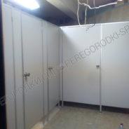 Туалетный блок с инвалидной кабиной