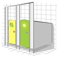 Детские туалетные перегородки иконка