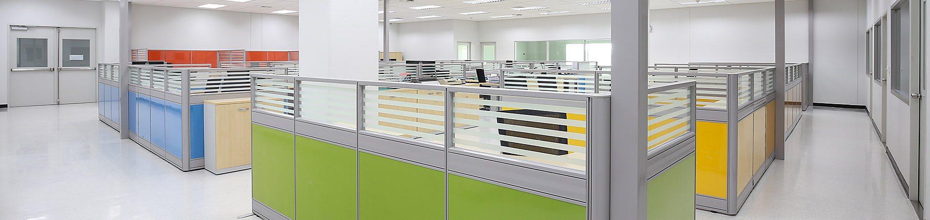 Офисные перегородки в слайдер