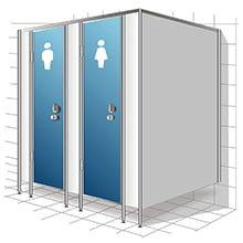 Туалетные перегородки иконка