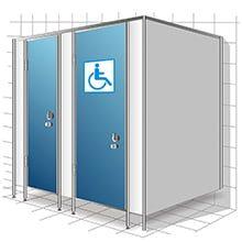 Туалетные перегородки МПГН иконка