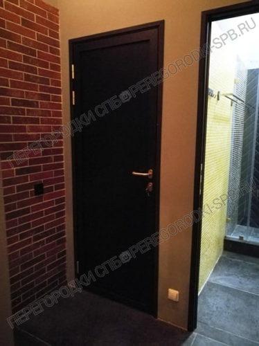 Алюминиевые дверные блоки для Полигон-17