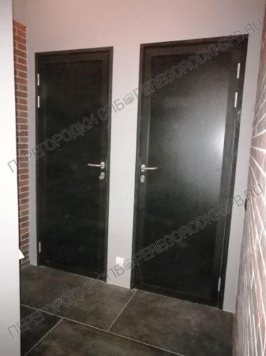 Алюминиевые дверные блоки для Полигон-19
