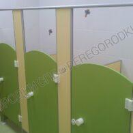 Детские туалетные перегородки люкс с радиусными дверьми-2