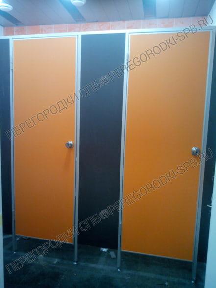 Сантехнические туалетные перегородки в логистический комплекс Московская Славянка-3