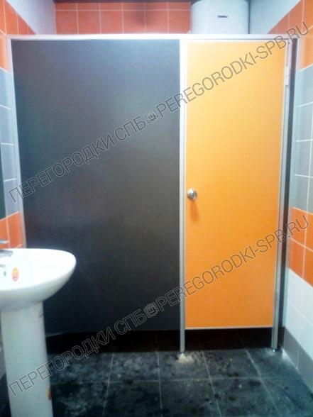 Сантехнические туалетные перегородки в логистический комплекс Московская Славянка-4