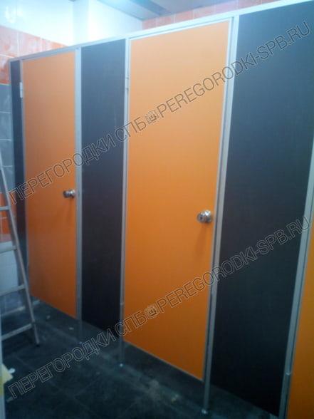 Сантехнические туалетные перегородки в логистический комплекс Московская Славянка