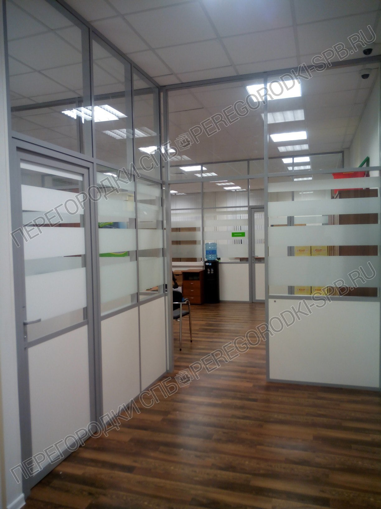 Стационарные офисные перегородки в офис Таксовичкоф-7