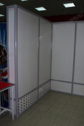 Супермаркет Бадаевский-2 (накопитель тележек)