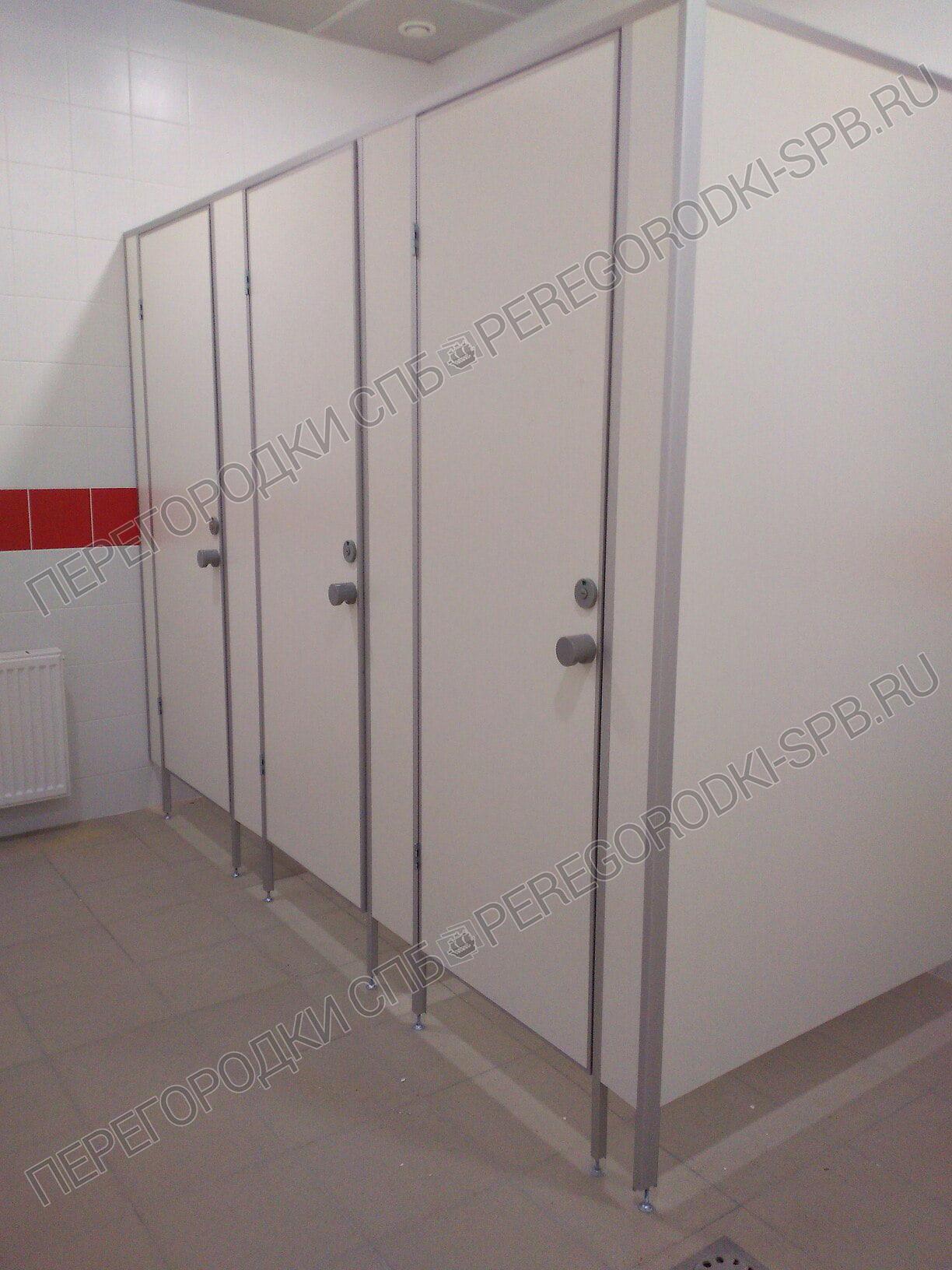 Туалетные и писсуарные перегородки в гипермаркете Карусель