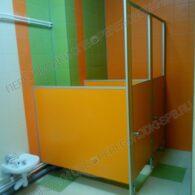 Туалетные перегородки в детский сад