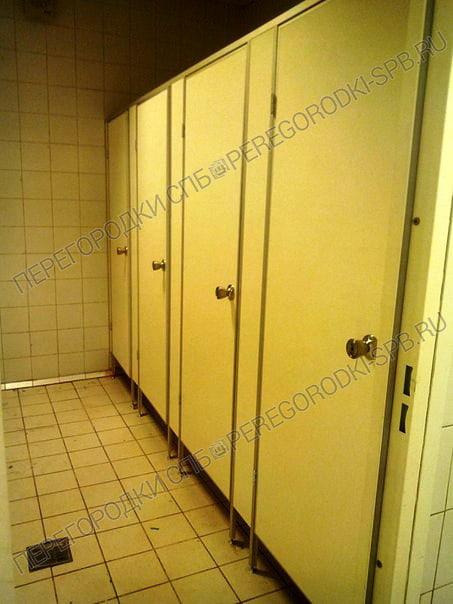 Туалетные перегородки в гипермаркете Карусель-4