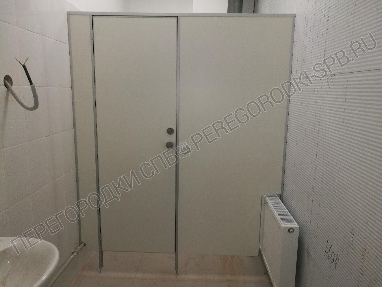 Туалетные перегородки в логистическом центре Магнит-6