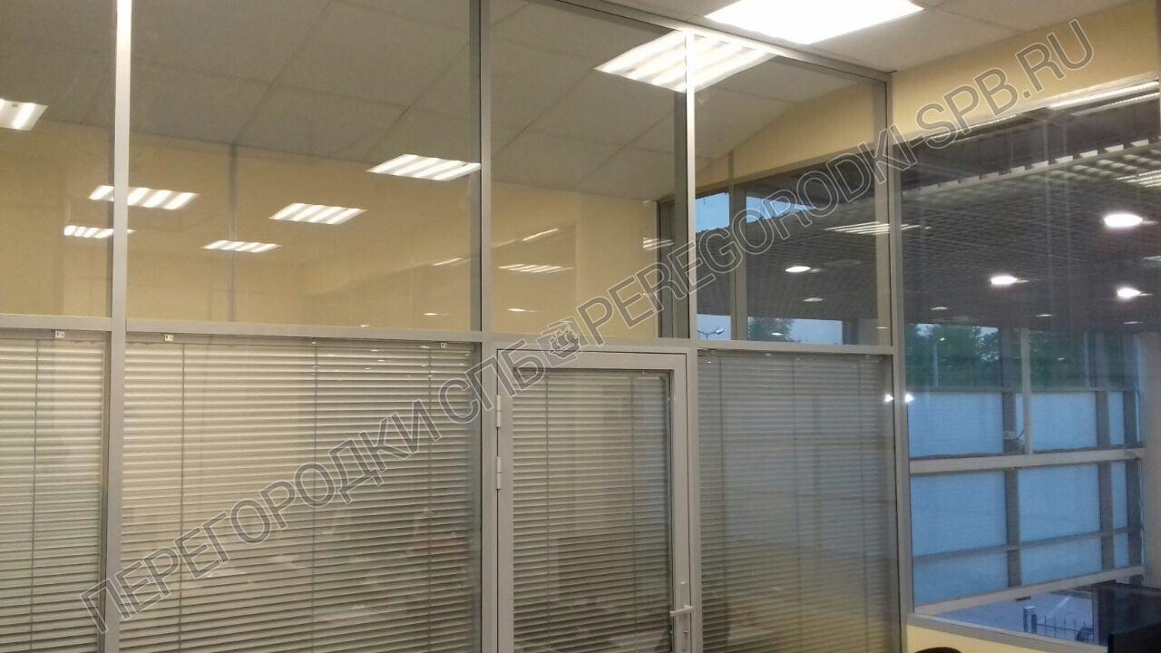 Перегородки из стекла в офис